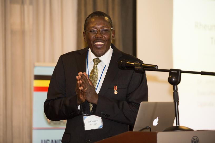 Dr. John Omagino, Executive Director of Uganda Heart Institute